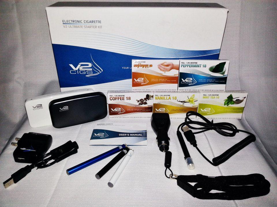 V2 Ultimate E Cig Kit