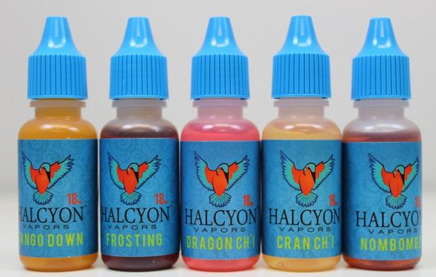 Halcyon Vapors E Juice Flavors